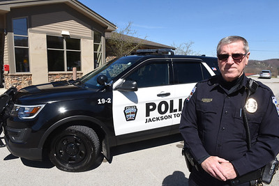 Jackson Twp. Chief of Police, Terry Seilhamer. Harold Aughton/Butler Eagle.