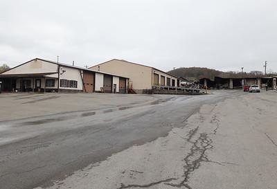 Hunter Truck Center. Seb Foltz/Butler Eagle (04/07/21 post fire)