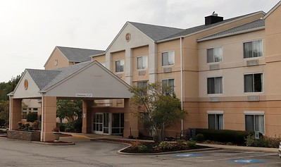 Fairfield Inn & Suites on Route 8. Seb Foltz/Butler Eagle  Sept. 2020