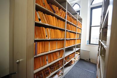 Old Butler County Court House file room. Seb Foltz/Butler Eagle April 2021