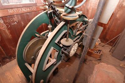 The Butler County County Court House clock tower's original clock mechanism. Seb Foltz/Butler Eagle April 2021