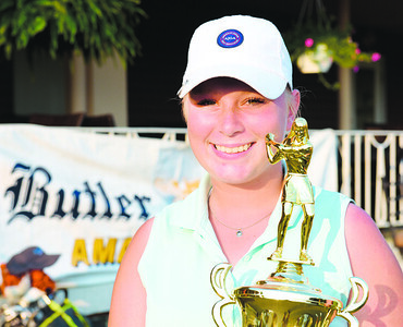 Paige Scott of Summit Twp. won the women's division of the Butler Eagle Amateur with a round of 66.  Harold Aughton/Butler Eagle