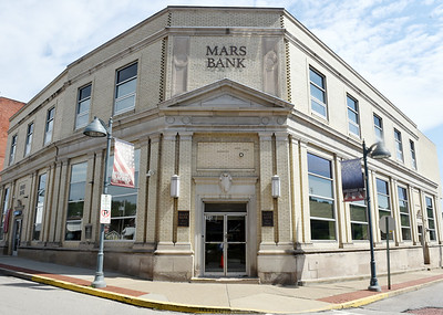 The Mas Bank building along Grand Ave. is one of the oldest buildings in Mars dating back to the early 1900s. Harold Aughton/Butler Eagle.