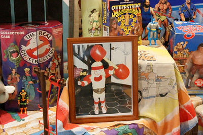 """Nick Bartley has loved collecting toys since he was very young. """"Every item here came from actually finding it. There is not a single item that came from online shopping."""" Julia Maruca / Butler Eagle"""