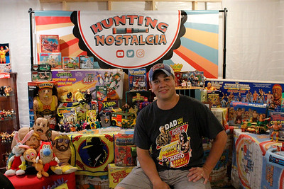 """Nick Bartley shares his love of old toys on his TV and YouTube show """"Hunting Nostalgia."""" Julia Maruca/Butler Eagle"""