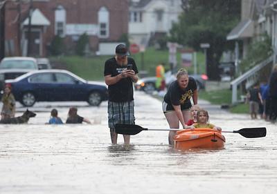 West brady st. flooding