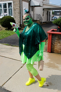 Annie Koch won first place in the costume competition for her alien outfit. Julia Maruca/Butler Eagle