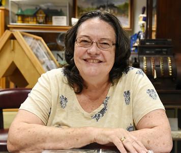Rita Reifenstein of the Evans City Historical Society  Harold Aughton/Butler Eagle