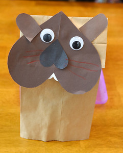 """The Mars Library has created a """"Take and Make"""" craft bag to make at home. Parents may pick-up a craft at the library. This week's craft is a groundhog hand puppet. Harold Aughton/Butler Eagle."""