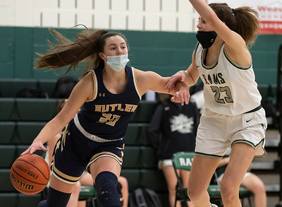 BUTLER VS PINE RICHLAND GIRLS BASKETBALL