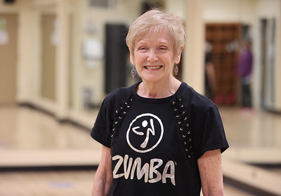 Rose E. Schneider YMCA fitness instructor Sandy Wargo, 72.  Seb Foltz/Butler Eagle 01/28/21