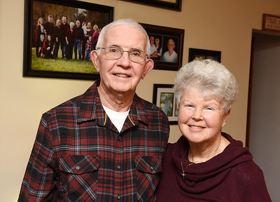 Jim and Bonnie Fiel, Sparks Ave. Meridian. Married 55 years. Harold Aughton/Butler Eagle.