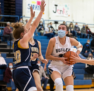 Butler vs Norwin Girls Basketball