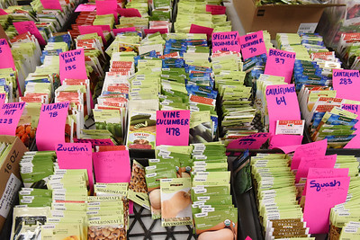 The Butler 4-H is selling seeds as part of a fundraiser. Harold Aughton/Butler Eagle.