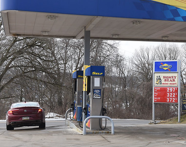 Gas prices are on the rise since OPEC decreased production. Harold Aughton/Butler Eagle.