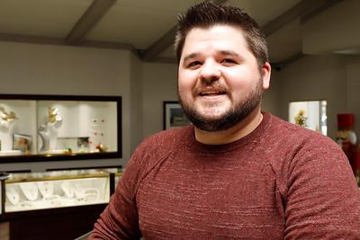 Spencer Mathew of Mathew Jewelers Seb Foltz/Butler Eagle 12/29/20