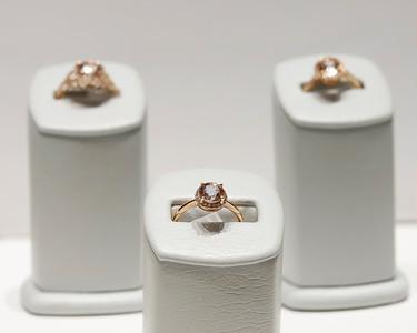 Mathew Jewelers a morganite gemstone rings. Seb Foltz/Butler Eagle 12/29/20