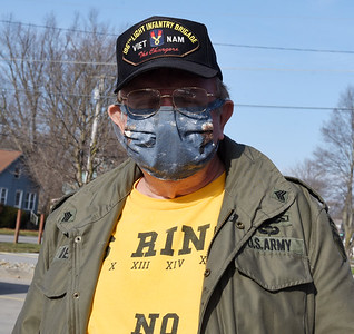 Vietnam veteran Lawrence Delair of Parker, Wednesday, January, 13, 2021 Harold Aughton/Butler Eagle.