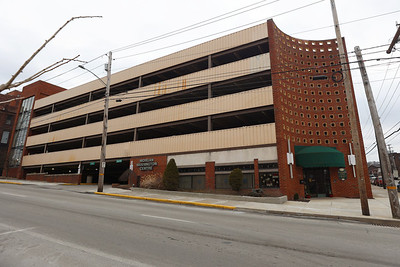 Tier Parking Garage/Morgan Washington Center and Redevelopment Authority. Seb Foltz/Butler Eagle 01/22/21