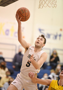 Butler's Mattix Clement goes for a layup in the third period against North Allegheny Friday, January 22, 2021. Harold Aughton/Butler Eagle.