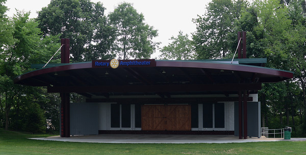An opening ceremony at Cranberry Community Days will dedicate the Rotary Amphitheater, which underwent extensive renovations in 2020 as the Cranberry Township Community Chest's Project of the Year. Photo: Julia Maruca