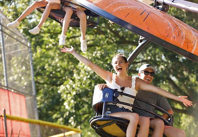 Cranberry area residents flocked to Cranberry Community Days Saturday to enjoy rides carnival food, art and live music. Seb Foltz/Butler Eagle