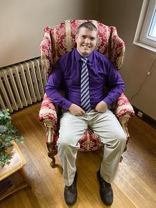 The Rev. Brian Hauser has taken over as pastor at Mars United Presbyterian Church. ERIC FREEHLING/BUTLER EAGLE.