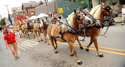 57135 ZELIENOPLE MAIN ST HORSE TRADING HISTORY COMMUNITY TRAVEL TOURISM ENTERTAINMENT