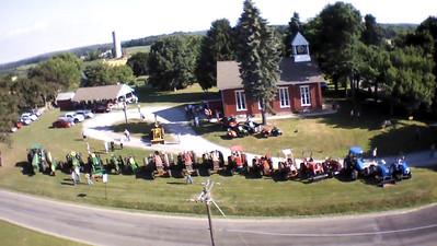 Tractor Sunday at Mt. Nebo Presbyterian Church