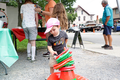 Christmas in July in Harmony, Pa.