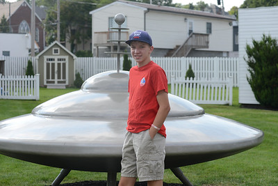 Michael Bridgeman, 15, of Valencia attended Advanced Space Academy last week at the US Space and Rocket Center in Huntsville, Alabama. Photo: Julia Maruca/Butler Eagle