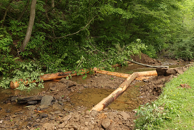 Sullivan Run creek restoration project. Seb Foltz/Butle Eagle 06/01/21