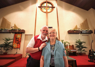 Allen and Mary Kitchen. Rev. Mary Kitchen of East Butler and North Butler Presbyterian Church will be retiring June 13 after 30 years of service to the churches. Seb Foltz/Butler Eagle 05/28/21