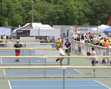 USA Pickleball North Mid-Atlantic Regional Championship / National Qualifier in Cranberry's Graham Park Friday-Sunday, hosted by Cranberry Township Pickleball Association. Seb Foltz/Butler Eagle 06/04/21