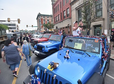 31884 Annual Jeep Invasion on Main st in Butler