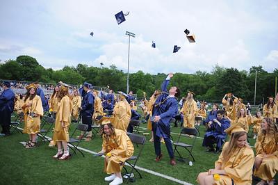 Freeport High School Graduates celebrate graduation held at Freeport High School Staduim on Tuesday June 8, 2021 (photo by: Jason Swanson)