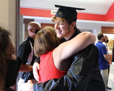 NOTE: NAME TO BE ADDED Moniteau High School Graduation. Seb Foltz/Butler Eagle