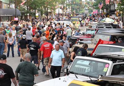 Jeep Invasion Parade Friday 06/12/21. Seb Foltz/Butler Eagle  2021