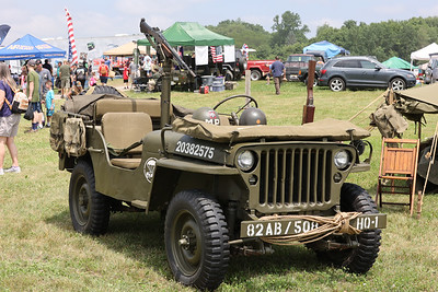 A WWII era jeep at Jeep Fest 2021. Seb Foltz/Butler Eagle 06/12/21