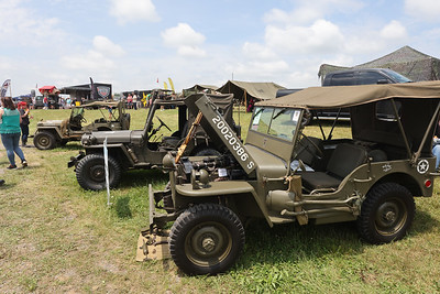 WWII and later military Jeeps on display at Jeep Fest. Seb Foltz/Butler Eagle 2021