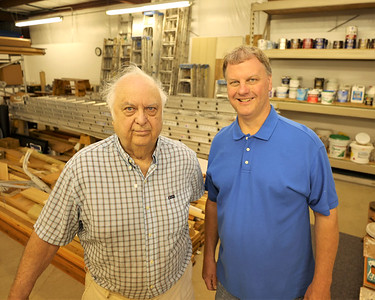 Gary, 82, and Rusty Stirling,52, of  Stirling Painting, Wallpapering, and Contracting