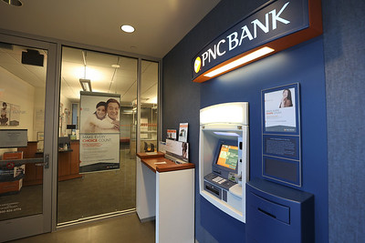Slippery Rock University PNC Bank branch. Seb Foltz/Butler Eagle 03/02/21