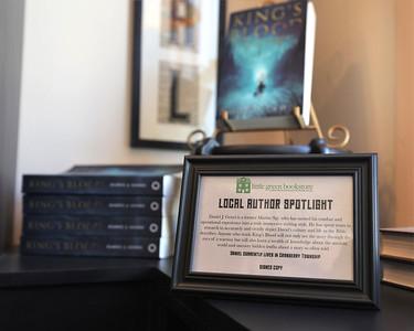 Local secton of Llittle Green Bookstore in Harmony. Seb Foltz/Butler Eagle 02/25/21
