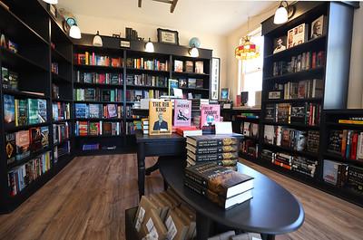 Little Green Bookstore in Harmony. Seb Foltz/Butler Eagle 02/25/21
