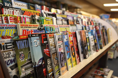 The Book Nook magazine section. Seb Foltz/Butler Eagle   -- March 2021