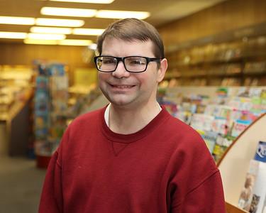 Erik Bell, manager at the Book Nook in Butler. Seb Foltz/Butler Eagle