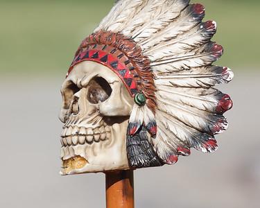 Moniteau mascot stick. Seb Foltz/Butler Eagle