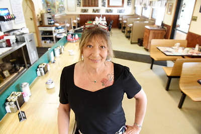 Jacqueline Miller, owner of Roxy's Diner, is closing after working at the diner for the past 17 years. Harold Aughton/Butler Eagle.