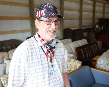 Butler County Veterans in Need manager Roy Remone stands for a photo in the foundation's new storage warehouse on Route 8 north of Butler. The organization provides furniture for veterans in need. Seb Foltz/Butler Eagle