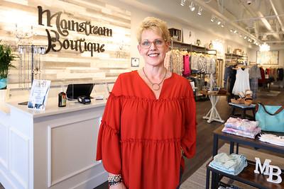 Mainstream Boutique owner Christine Dunn. Seb Foltz/Butler Eagle 04/21/21